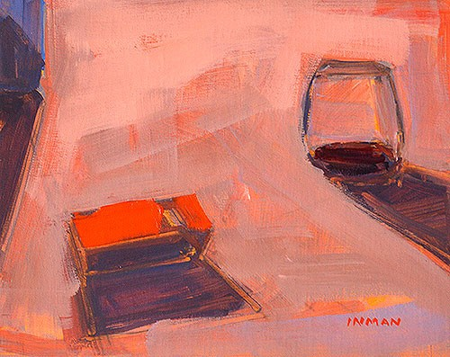 """The Party"" original fine art by Kevin Inman"