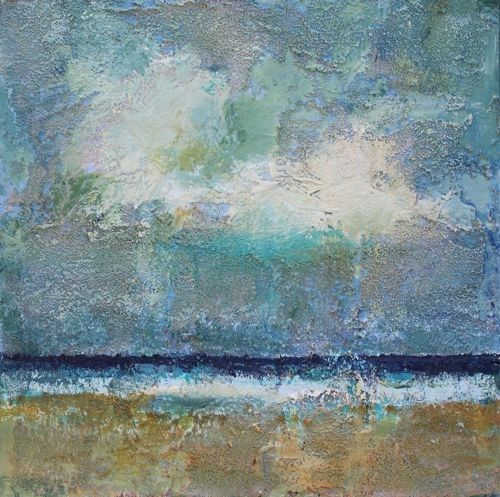 """Beach Time, Beach and Ocean Paintings by Arizona Artist Amy Whitehouse"" original fine art by Amy Whitehouse"