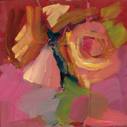 """""""1566 Reentry"""" original fine art by Lisa Daria"""