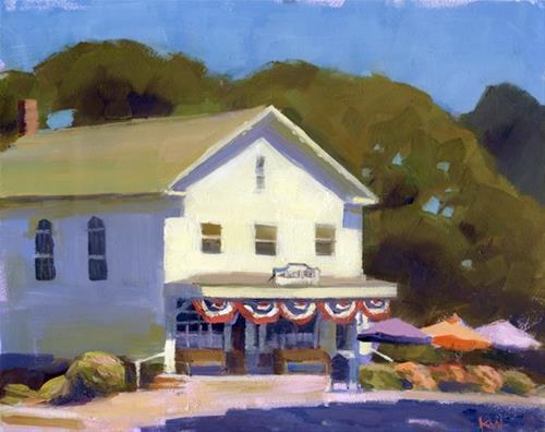 """Brewster General Store"" original fine art by Kathy Weber"