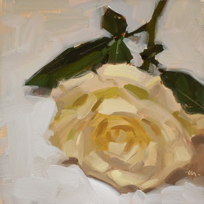 """Lie to Me, Rose"" original fine art by Carol Marine"