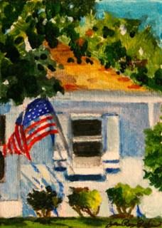 """The Older Burbs"" original fine art by JoAnne Perez Robinson"