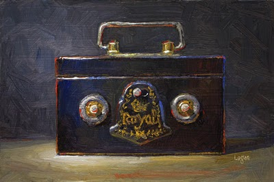 """Royal Bank"" original fine art by Raymond Logan"