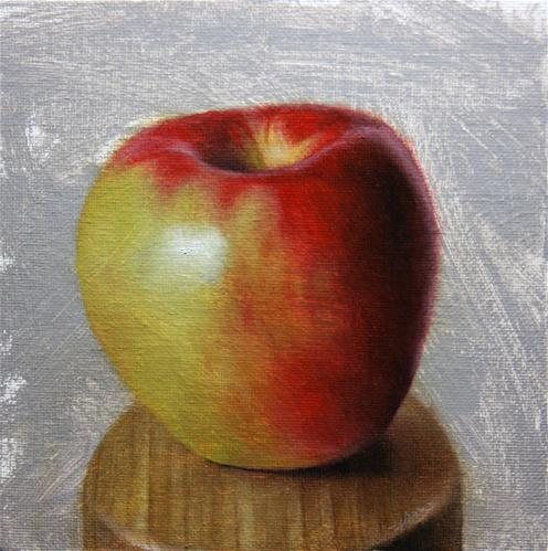 """Apple"" original fine art by Jonathan Aller"