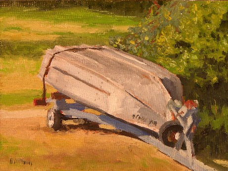 """""""Done for the Season"""" original fine art by Mary McInnis"""