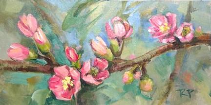 """Quince"" original fine art by Robin Peterson"