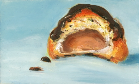 """Eclair 2"" original fine art by Sunny Avocado"