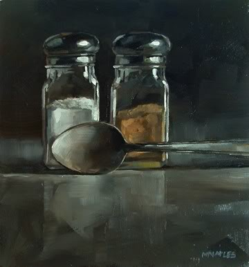 """Salt & Pepper"" original fine art by Michael Naples"