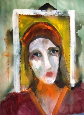 """Icon"" original fine art by Nancy Hall"