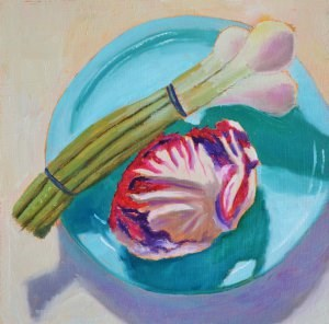 """Veggies"" original fine art by Robert Frankis"
