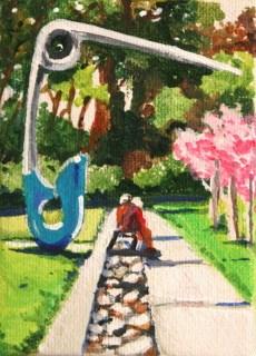 """Practical Public Art"" original fine art by JoAnne Perez Robinson"