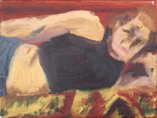 """""""Life's a Blur"""" original fine art by Madeleine Hoffmeister"""