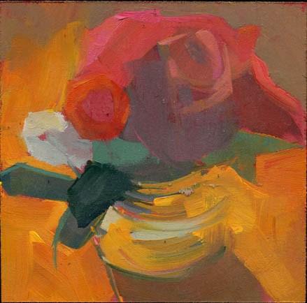 """""""1422 Painting Demo"""" original fine art by Lisa Daria"""