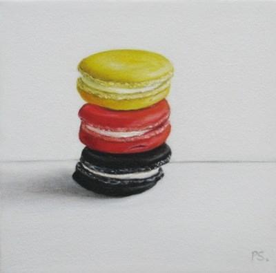 """The Black Macaroon I"" original fine art by Pera Schillings"
