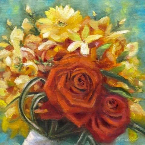 """""""Sunny Day"""" original fine art by Pat Fiorello"""