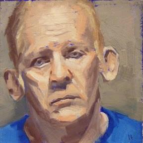 """""""FACE-IT.  #7"""" original fine art by Helen Cooper"""