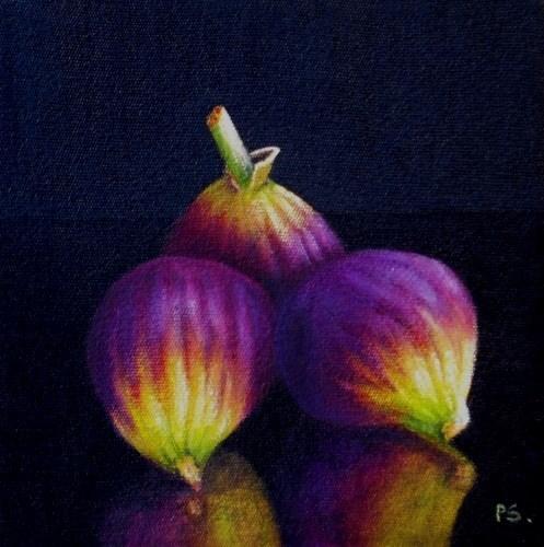 """""""Adam's Figs"""" original fine art by Pera Schillings"""