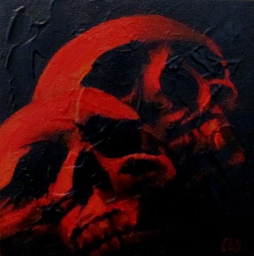 """""""Till Death Do Us Part"""" original fine art by ~ces~ Christine E. S. Code"""