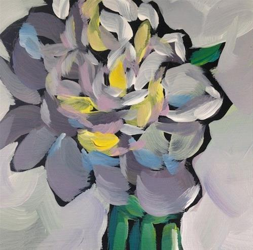 """Peony #2"" original fine art by Kat Corrigan"