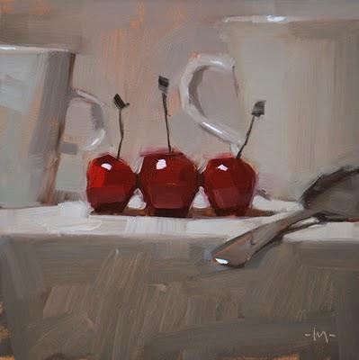 """Life in White"" original fine art by Carol Marine"