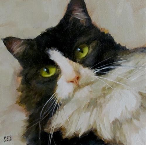 """Unimpressed"" original fine art by ~ces~ Christine E. S. Code"