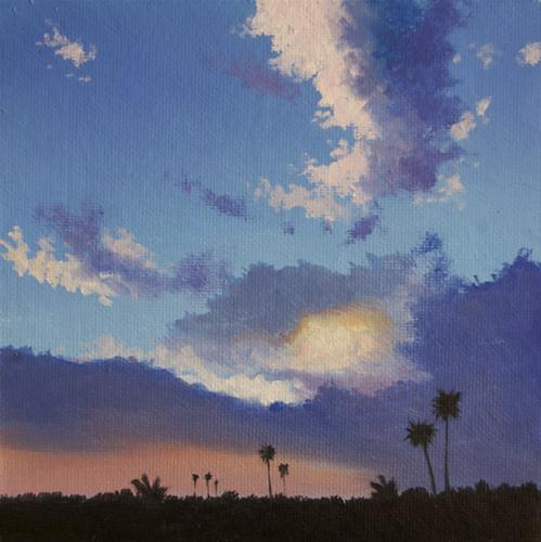 """LAGUNA SUNDOWN"" original fine art by Gerald Schwartz"