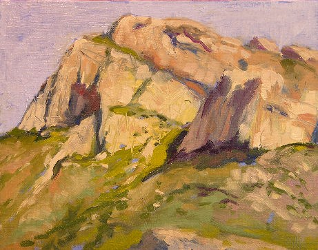 """Mount Kimball"" original fine art by Mary McInnis"