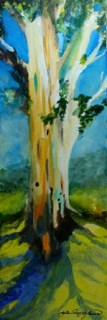 """Old Trunk"" original fine art by JoAnne Perez Robinson"