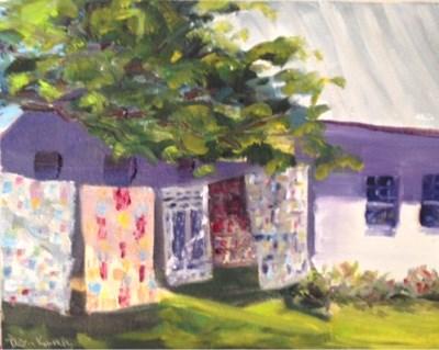 """""""Joy in July"""" original fine art by Debra Kennedy"""
