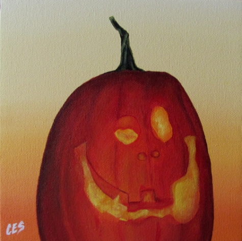 """I iz sooo Scary!"" original fine art by ~ces~ Christine E. S. Code"