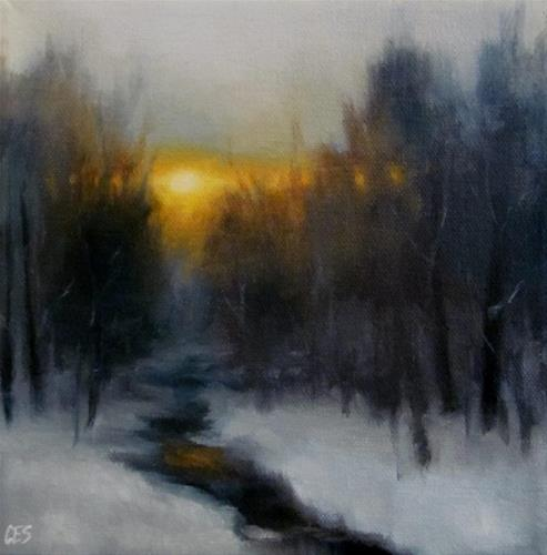 """Winter Magic"" original fine art by ~ces~ Christine E. S. Code"
