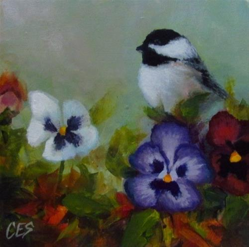 """Gardening Luck"" original fine art by ~ces~ Christine E. S. Code"