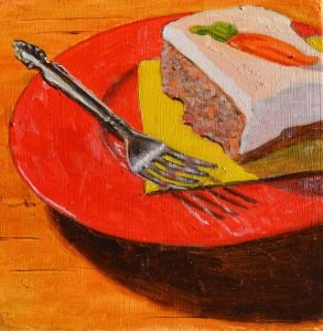 """Carrot Cake"" original fine art by Robert Frankis"
