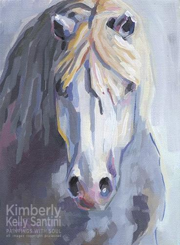 """Gary III"" original fine art by Kimberly Santini"