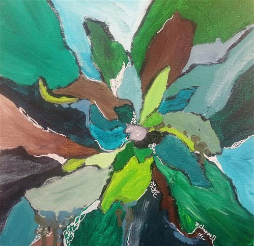 """Blossom"" original fine art by Becky Chappell"
