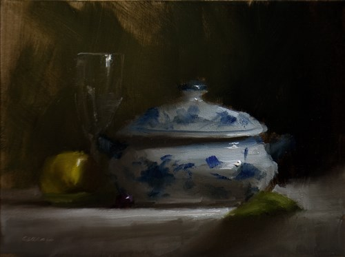 """Tureen Bowl"" original fine art by Neil Carroll"