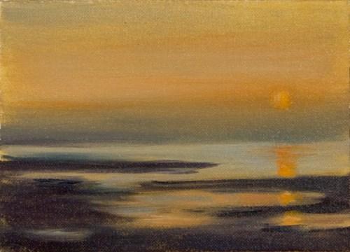 """""""Sunset #913"""" original fine art by Dee Lessard"""