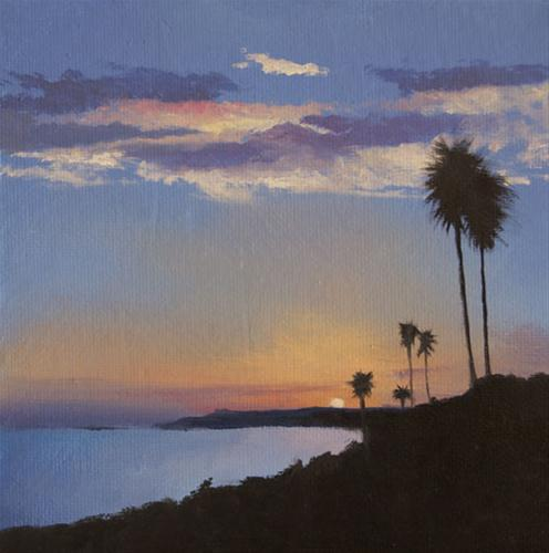 """""""LOOKING NORTH"""" original fine art by Gerald Schwartz"""