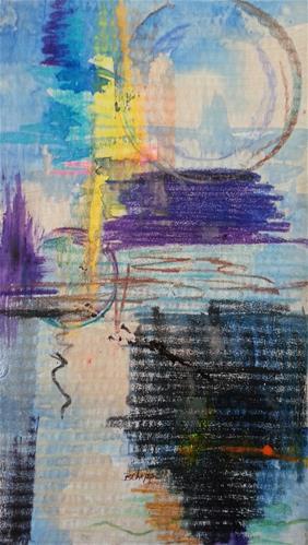 """Don't Resist"" original fine art by Becky Chappell"