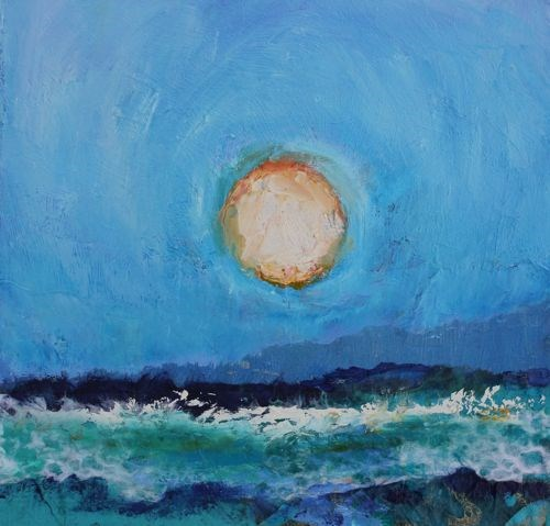 """Ocean View, Seascapes by Arizona Artist Amy Whitehouse"" original fine art by Amy Whitehouse"