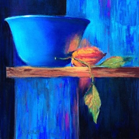 """""""Top Shelf"""" original fine art by Cindy Gillett"""