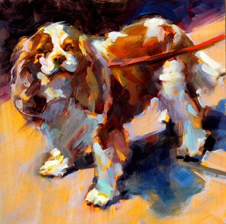 """Spaniel"" original fine art by Karen Bruson"