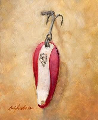 """""""Dare Devil"""" original fine art by Lael Henderson"""