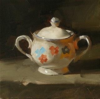 """Sugar Bowl Study"" original fine art by Qiang Huang"