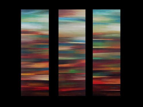 """""""Earth's Layers"""" original fine art by ~ces~ Christine E. S. Code"""