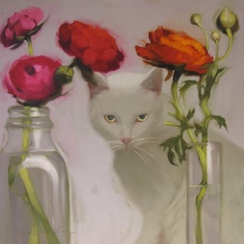 """""""Lucy"""" original fine art by Diane Hoeptner"""