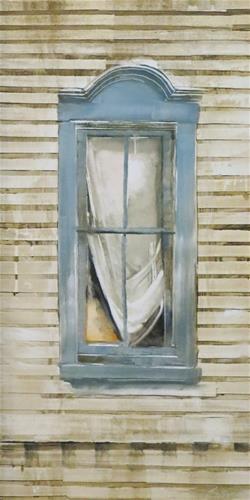"""""""Wyeth Window"""" original fine art by Beth Bathe"""