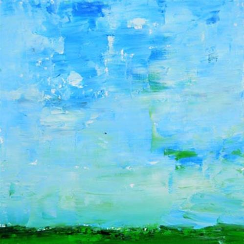 """Landscape No 60"" original fine art by Katie Jeanne Wood"