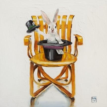"""hocus pocus"" original fine art by Kimberly Applegate"