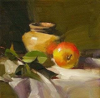 """Quiet Moment --- Sold"" original fine art by Qiang Huang"